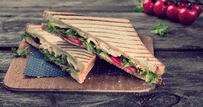 Как приготовить невредный сэндвич для перекуса