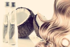 маска для волос с кокосом