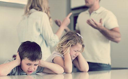 Как пережить развод если есть дети