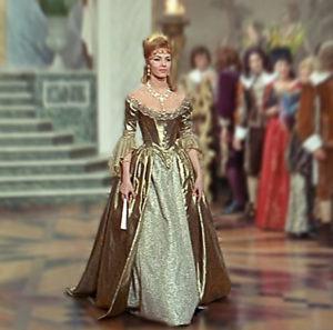 золотое платье Анжелики