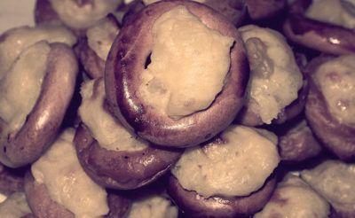 ленивые шаньги с картофелем