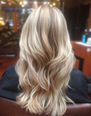 песочный блонд