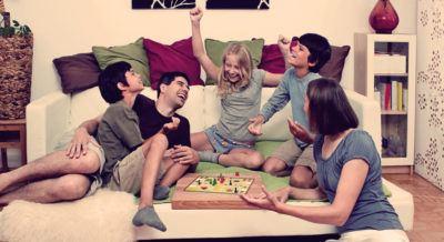 семейный вечер игры