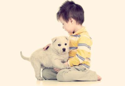 завести собаку для ребенка