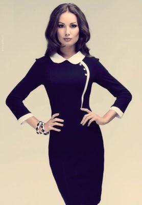 платье бизнес леди
