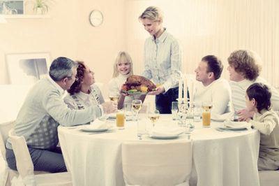 гости за столом правила общения