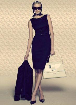 офисное платье фктляр