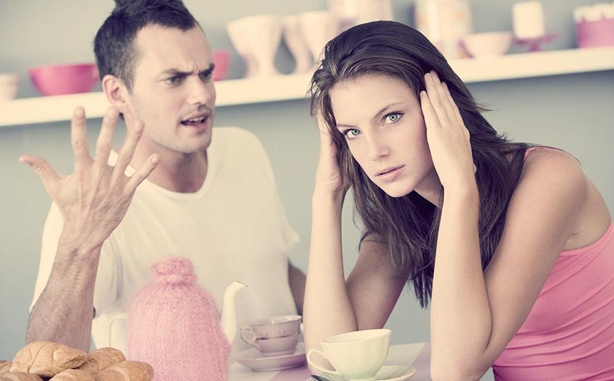 Если муж кричит на беременную женщину