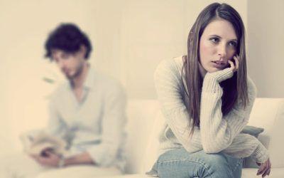 жена разочарована мужем