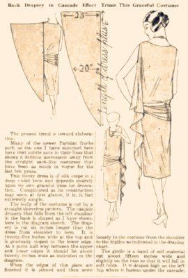 выкройка платья 20-х годов