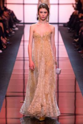 Armani Privé, неделя моды в Париже 2017