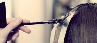 ламинирование влос в салоне