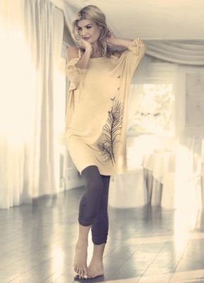 Комплект стильной домашней одежды