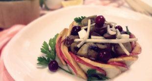 салат из сердечек с сельдереем