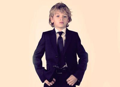 уроки стиля - костюм для мальчика