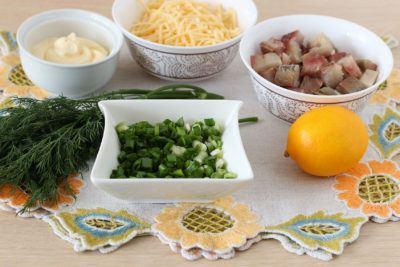 закуска из сельди к праздничному столу рецепт с фото