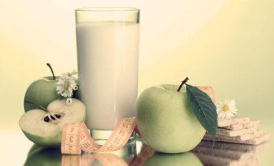 Кефирно-яблочный разгрузочный день