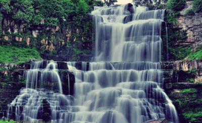 водопад по фен шуй