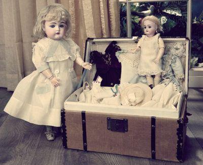 Антикварные куклы: чарующий предмет коллекционирования
