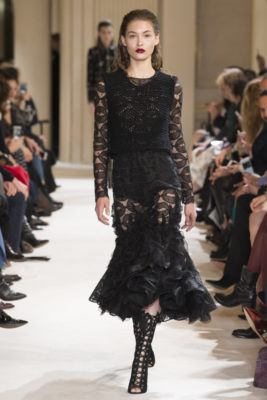 Показ коллекции Giambattista Valli - A/W 2017/2018 Ready-To-Wear