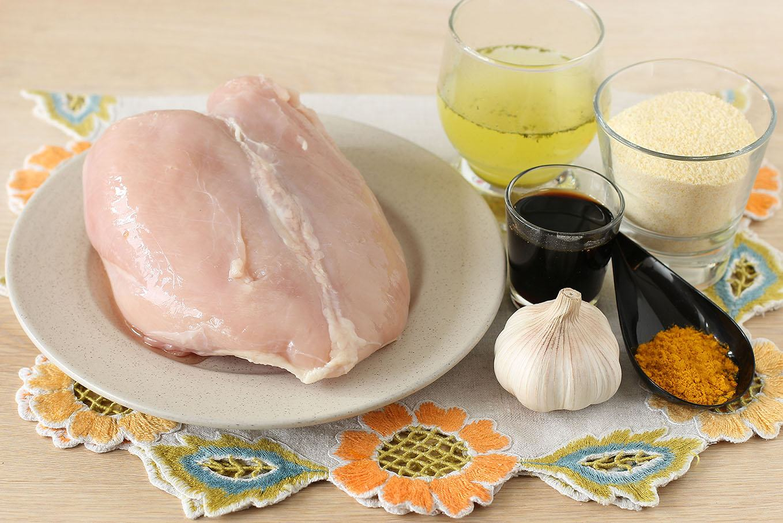 рецепт куриное филе в панировке из кукурузных хлопьев