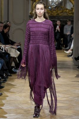 Показ коллекции John Galliano - A/W 2017/2018 Ready-To-Wear