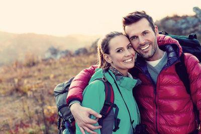совместное путешествие по горам