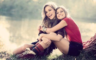 Эти девушки не просто подруги