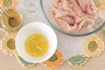 Шашлычки из крученой курицы на шпажках