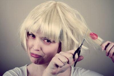 Как удалить жвачку с волос