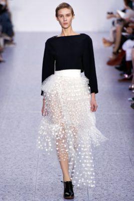 юбка с кружевом 2017