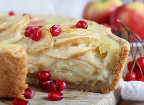 рецепт яблочного пирога Цветаевой с фото