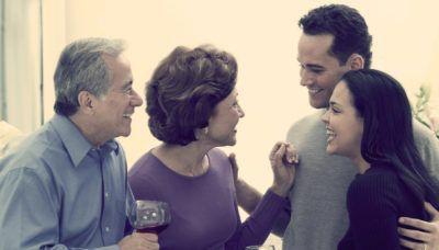 знакомство парня с родителями