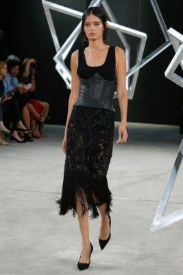 юбки с бахромой в моде 2017
