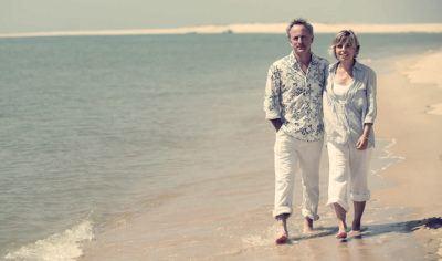 прогулка по берегу моря