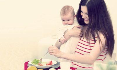Режим питания и образ жизни кормящей мамы
