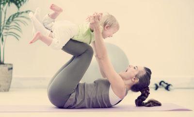 Упражнения для молодых кормящих мам