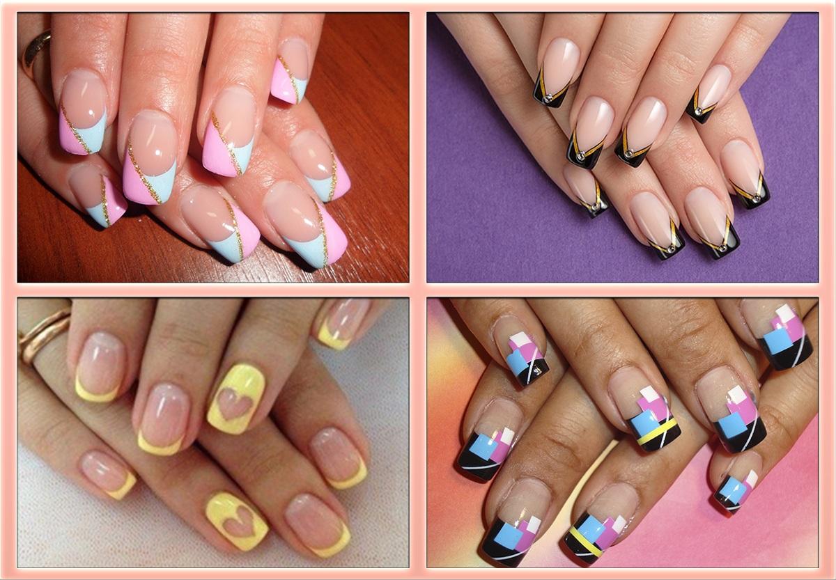 Работы по дизайну ногтей