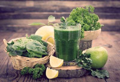 меню зеленой диеты