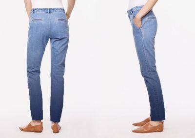 джинсы с градиентом 2017