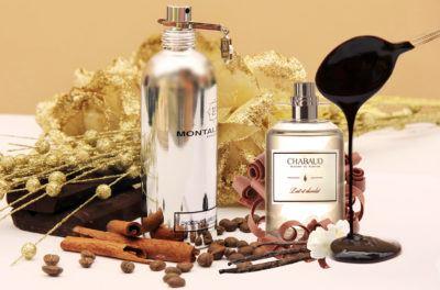 ароматы ванили и шоколада в женской парфюмерии
