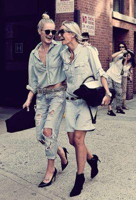 мода на деним