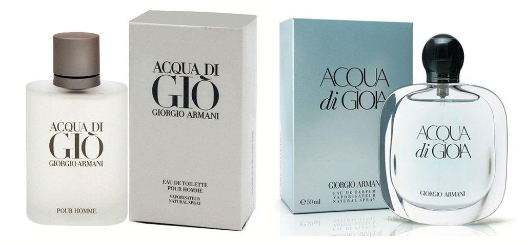 Acqua di Gioia + Acqua di Gio Pour Homme
