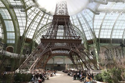 PARIS, FRANCE - JULY 04: General view during the Chanel Haute Couture Fall/Winter