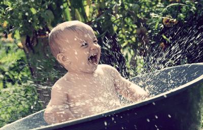 закаливание детей в летний период