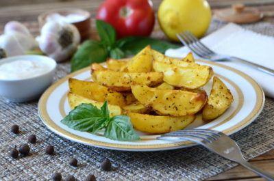 картофель по деревенски в духовке как в макдональдсе