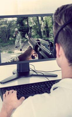 хобби мужчины - компьютерные игры