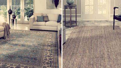 ковры шерстяные или из растительных волокон