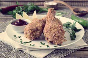 куриные ножки на сковороде с хрустящей корочкой