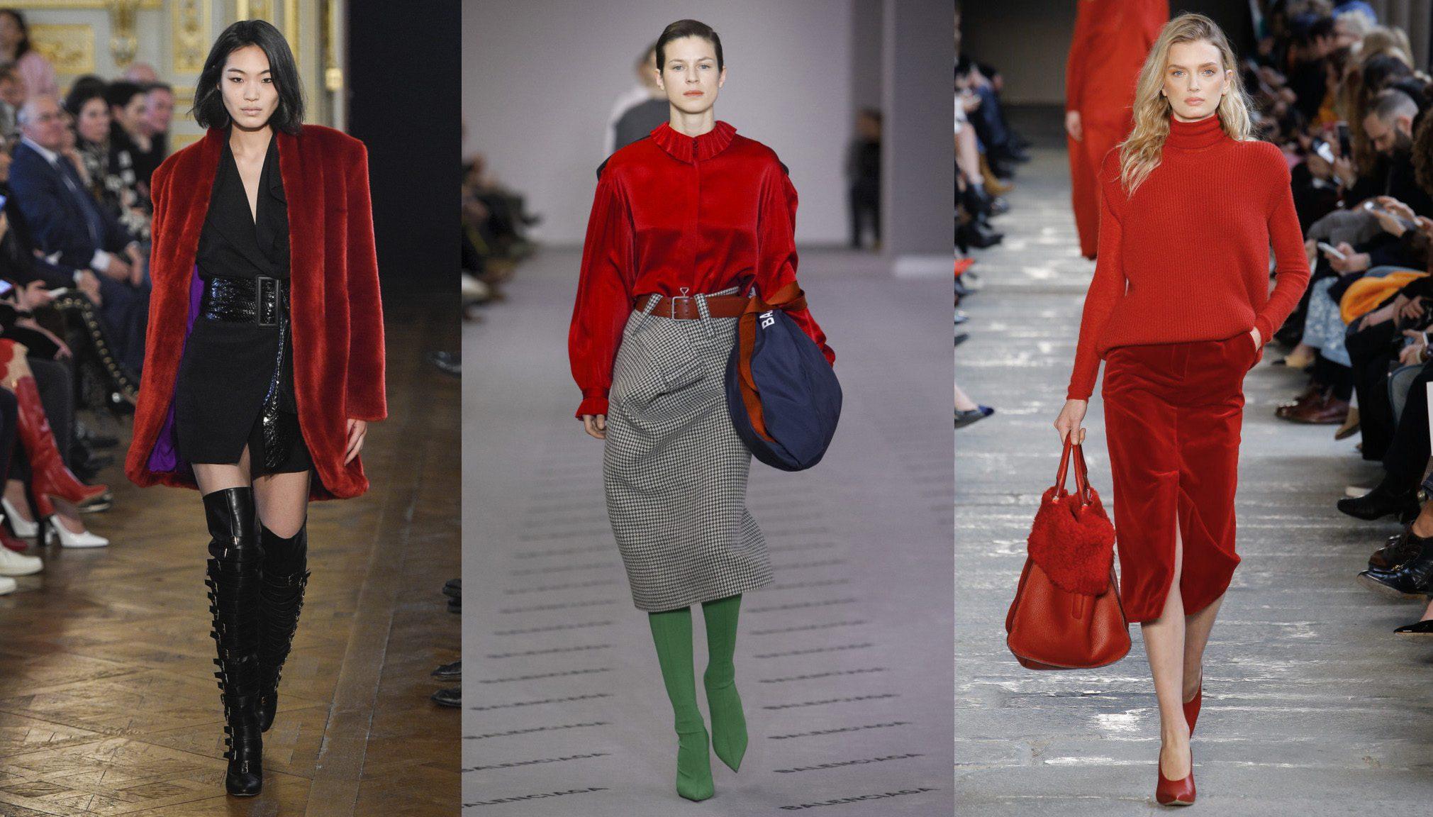 Модные цвета осень-зима 2018 в женской одежде по версии Pantone